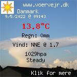 Vejret i Voer, Danmark